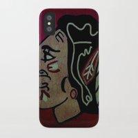 blackhawks iPhone & iPod Cases featuring Blackhawks by Jide