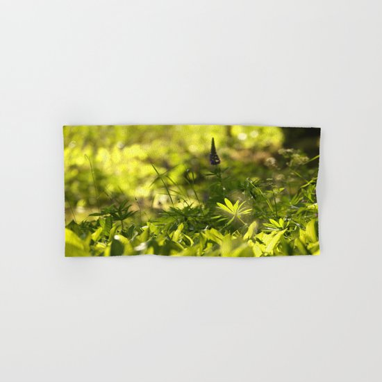 In The Summer Forest  Hand & Bath Towel