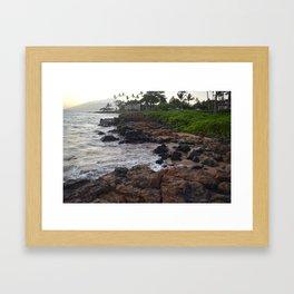 grand wailea Framed Art Print