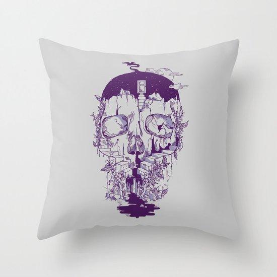 Inside My Head 2.0 Throw Pillow