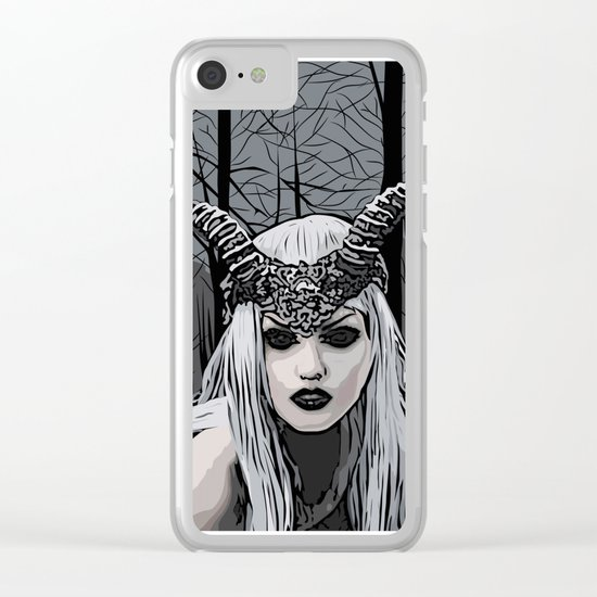 Wild witch Clear iPhone Case