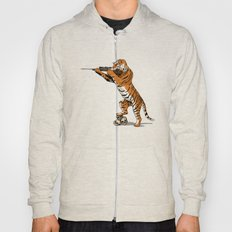 The Hunted becomes the Hunter Hoody