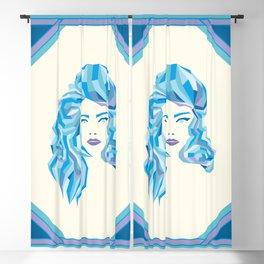 Blue Mood Blackout Curtain