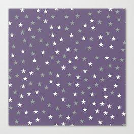 Stars Pattern 2 Canvas Print