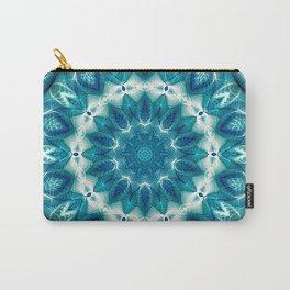 Flower Of Life Mandala (Ocean's Secret) Carry-All Pouch