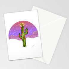 Christmas Cactus Stationery Cards