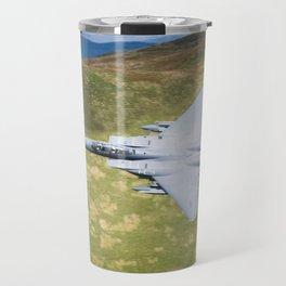 Low Flying F-15E Strike Eagle Travel Mug