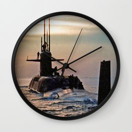 USS DANIEL WEBSTER (SSBN-626) Wall Clock