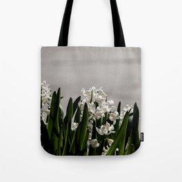Hyacinth background Tote Bag