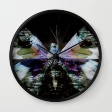 Papillon _ Innocent when You dream Wall Clock