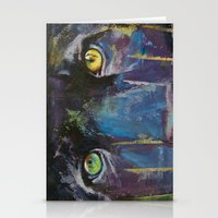 panther Stationery Cards featuring Panther by Michael Creese