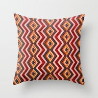 math Throw Pillows featuring TIGHT MATH by M. Ali Kahn