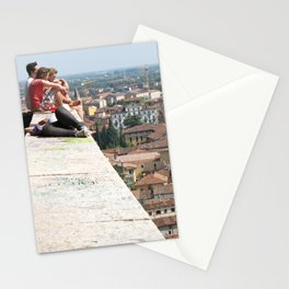 Unknown Faces In Different Places (Pt 4 - Verona, Italy) Stationery Cards