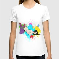 yoga T-shirts featuring Yoga by Don Kuing
