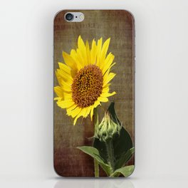 Faithful Sunflower iPhone Skin