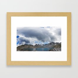 Around 3000m Framed Art Print