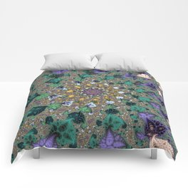 Fractal Paisleys Comforters