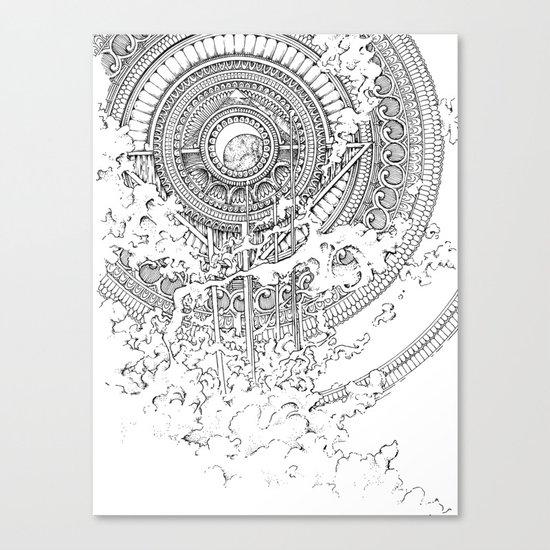 Alexander Bridge Bubble Canvas Print