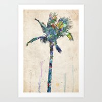 palm tree Art Prints featuring Palm Tree by Taylor Payne