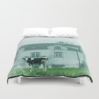 rustic Duvet Covers featuring Rustic by Susann Mielke