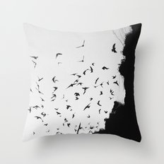 Black November Throw Pillow