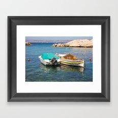 Floating Marseille Framed Art Print