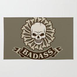 Badass skull Rug