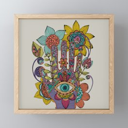 Hamsaeye Framed Mini Art Print