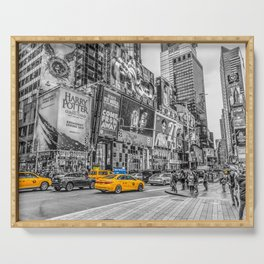 Yellow Taxi's Times Square Serving Tray