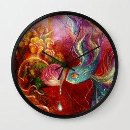 La Soledad/Loneliness Wall Clock