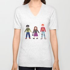 Harry, Hermione, and Ron Unisex V-Neck