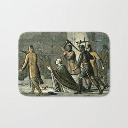 Murder of Thomas Becket Bath Mat