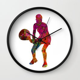 Tennis player Wall Clock