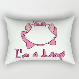 Aristocats I'm a Lady Rectangular Pillow