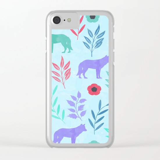 Forest Animal and Nature Clear iPhone Case