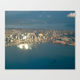 Seattle #4 Canvas Print