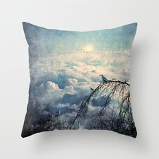 HEAVENLY BIRDS III Throw Pillow