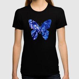 Fluid Butterfly (Blue Version) T-shirt