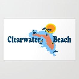 Clearwater Florida. Art Print