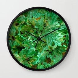Abstract mineral texture Wall Clock