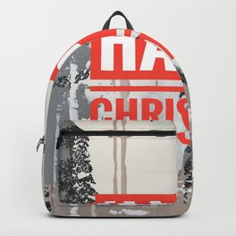 Snowfall - Happy Christmas Backpack