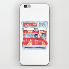 Polaroid Camera with Flower Power iPhone & iPod Skin