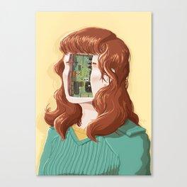 PCB Canvas Print