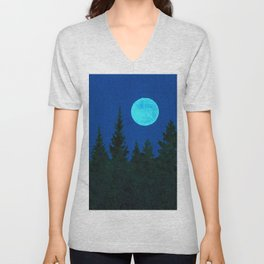 Once Upon a Blue Moon Unisex V-Neck