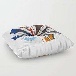 Color Wheel No.001 Floor Pillow
