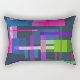 Imitation Mid-20th Century Abstraction, No. 3 Rectangular Pillow