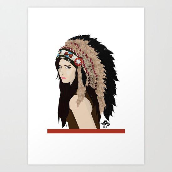 Kasa Art Print
