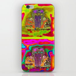 CRAZY NUT OLD CARS iPhone Skin