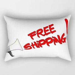 Free Shipping Megaphone Rectangular Pillow