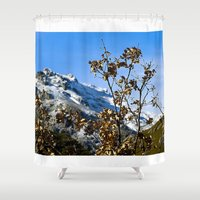 spain Shower Curtains featuring Sanábria, Spain by Elias Silva Photography